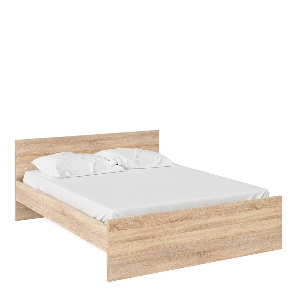 Enzo Euro King Bed (160 x 200) in Oak